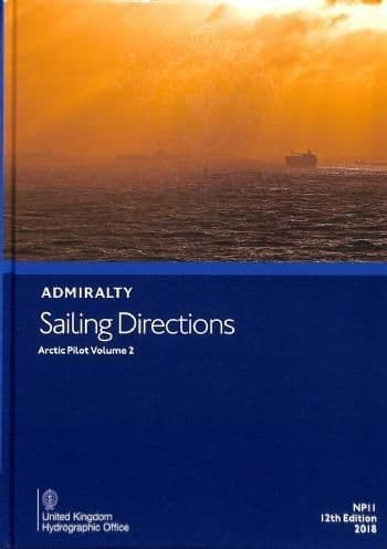 NP11 - Admiralty Sailing Directions: Artic Pilot Volume 2 (12th Edition)